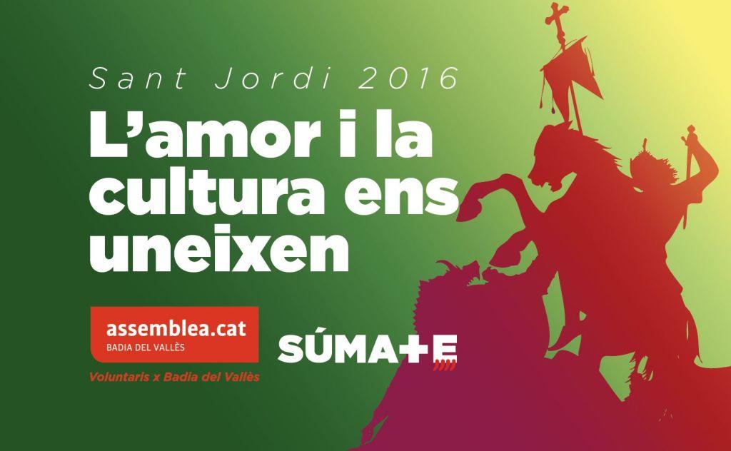 Sant Jordi 2016 a Badia del Vallès